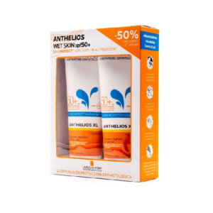 ANTHELIOS PACK GEL WET SKIN SPF50 2X250ML