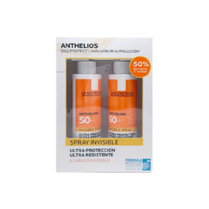ANTHELIOS PACK SPRAY INVISIBLE SPF50 2X200ML