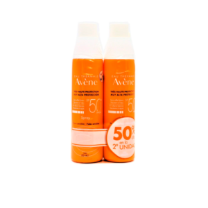 AVENE ALTA PROTECCION SPF 50+ SPRAY 200 ML 2ªUD 50%