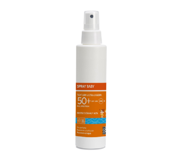 UNIFARCO SPRAY BABY 50+ TEXTURA ULTRALIGERA 200ML
